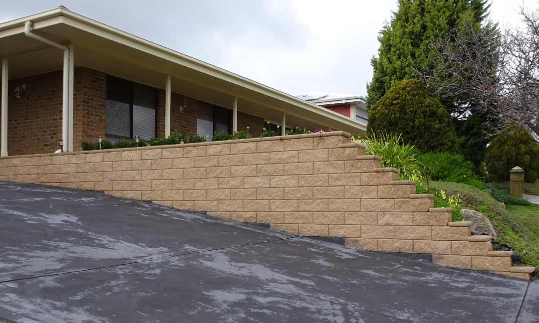 Portfolio of landscaping work completed across adelaide for Retaining walls adelaide