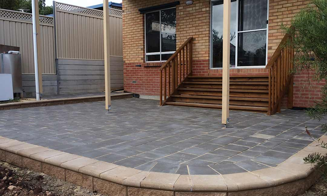 Portfolio of landscaping work completed across adelaide for Paver installation adelaide